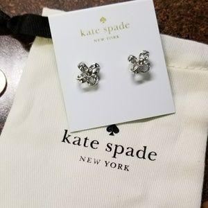 Kate Spade its a tie earrings